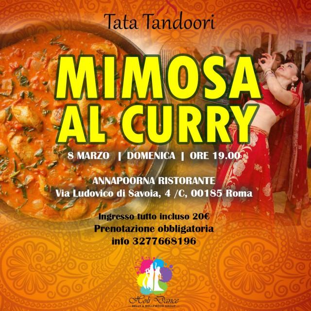 Mimosa al curry